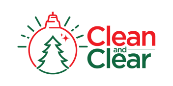 Clean and Clear Holiday Lighting Logo
