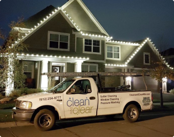 clean and clear holiday lighting our process img 2