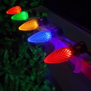 Multi Color C9 Professional Christmas/Holiday LED Lights